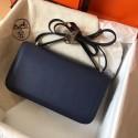 Best Hermes Blue Royale Epsom Constance Elan 25cm Bag Replica HJ00565