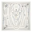 Hermes Blanc Etude Pour Une Parure De Gala Scarf HJ01247