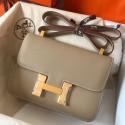 Hermes Epsom Constance 24cm Tourterelle Handmade Bag Replica HJ00303