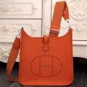 Hermes Orange Evelyne III PM Bag HJ00250