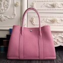 High Quality Wholesale Hermes Medium Garden Party 36cm Tote In Pink Leather HJ00151