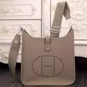 Imitation High Quality Hermes Grey Evelyne III PM Bag HJ01065