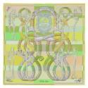 Imitation Replica Hermes Green Della Cavalleria Shawl HJ01023