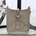 Knockoff AAA Hermes Grey Evelyne II TPM Messenger Bag HJ00803