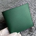 Knockoff Faux Hermes Green MC2 Copernic Compact Wallet HJ00398