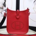 Luxury Copy Hermes Red Evelyne II TPM Messenger Bag HJ00366