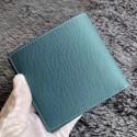 Perfect Replica Hermes Blue Jean MC2 Copernic Compact Wallet HJ01067