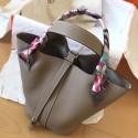 Replica Copy Luxury Hermes Tourterelle Picotin Lock MM 22cm Handmade Bag HJ00808