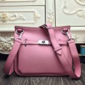 Top Imitation Hermes Pink Large Jypsiere 34cm Bag HJ01344
