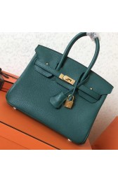 AAA Replica Hot Replica Hermes Malachite Clemence Birkin 25cm Handmade Bag HJ01235