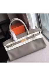 Best Cheap Hermes Grey JPG Birkin 42cm Shoulder Bag HJ01140
