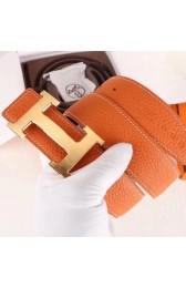 Best Hermes H Belt Buckle & Orange 32mm Clemence Strap HJ00739