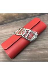 Best Hermes Handmade Egee Clutch In Red Swift Leather HJ00104