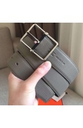 Cheap Copy Hermes Grey Saddle 38MM Reversible Belt HJ01314