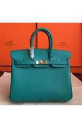 Copy Hermes Blue Paon Epsom Birkin 25cm Handmade Bag HJ00209
