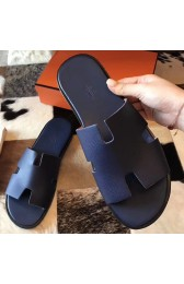 Copy Replica Hermes Izmir Sandals In Sapphire Epsom Leather HJ00971