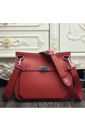 Fashion Hermes Red Medium Jypsiere 31cm Bag Replica HJ00868