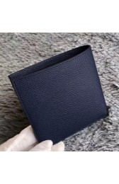 First-class Quality Knockoff Hermes Dark Blue MC2 Copernic Compact Wallet HJ01044