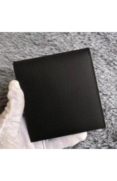 Hermes Black MC2 Copernic Compact Wallet HJ00277