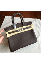 Hermes Cafe Clemence Birkin 25cm Handmade Bag Replica HJ00046