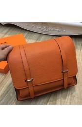 Hermes Orange Steve 35 Messenger Bag HJ00176