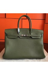 High Quality Hermes Canopee Clemence Birkin 40cm Handmade Bag HJ00085