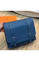 Imitation Hermes Blue Jean Steve 35 Messenger Bag HJ00511