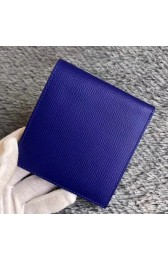 Knockoff Hermes Blue Electric MC2 Copernic Compact Wallet HJ00959