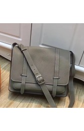 Knockoff Wholesale Hermes Grey Steve 35 Messenger Bag HJ00365