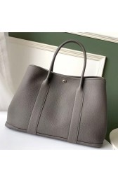 Luxury Replica Hermes Grey Fjord Garden Party 30cm With Printed Lining HJ00082