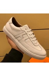 Quality Imitation Hermes Olympic Sneakers In Black Leather HJ00788