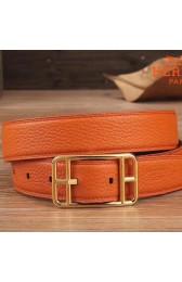 Replica 1:1 Hermes Orange Cape Cod 32 Reversible Belt HJ00917