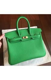 Top Faux Hermes Bamboo Clemence Birkin 25cm Handmade Bag HJ01102