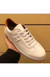 Top Replica Hermes Quicker Sneaker In White Leather HJ00923