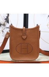 Best Cheap Hermes Brown Evelyne II TPM Messenger Bag HJ00876