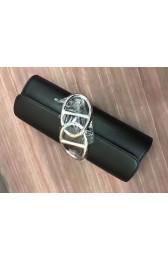 Best Cheap Hermes Handmade Egee Clutch In Black Swift Leather HJ00881