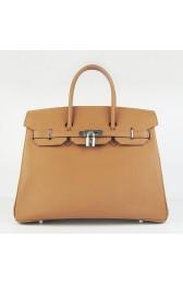 Best Replica Hermes Birkin 30cm 35cm Bag In Brown Togo Leather HJ00767