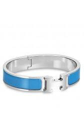 Best Replica Hermes Blue Enamel Clic H PM Bracelet HJ00940