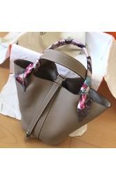 Cheap Hermes Tourterelle Picotin Lock PM 18cm Handmade Bag Replica HJ00538