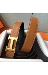 Copy Replica AAA Hermes H Belt Buckle & Brown Epsom 32 MM Strap HJ00834