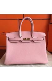 Fake AAA Fake Hermes Pink Clemence Birkin 40cm Handmade Bag HJ00336