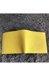 Fake Faux Perfect Hermes Yellow MC2 Copernic Compact Wallet HJ00926