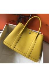 Knockoff Hermes Soleil Clemence Garden Party 30cm Handmade Bag HJ00338