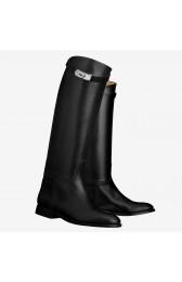 Replica AAA Hermes Black Jumping Boots HJ00913