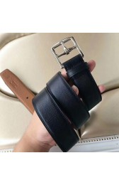 Replica Hermes Etriviere 40 Belt In Black Epsom Leather HJ01345
