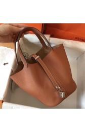 Replica Hermes Gold Picotin Lock PM 18cm Handmade Bag HJ01083