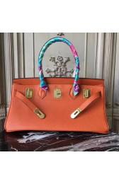 Top Fake Luxury Hermes Orange JPG Birkin 42cm Shoulder Bag HJ00761