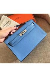 Wholesale Hermes Celeste Epsom Kelly Pochette Handmade Bag HJ00879