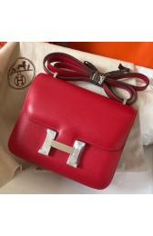 Wholesale Hermes Mini Constance 18cm Red Epsom Bag HJ00844